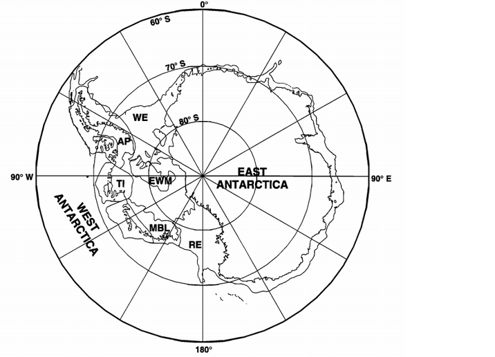 West Antarctic Plate